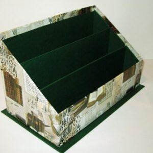Caja para notas. 10.5x10.5x5 cm