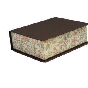 Caja sin cierre. 16x13x5 cm