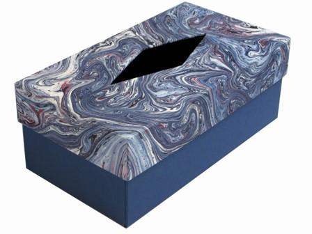 Caja para pañuelos. 23.5x12.5x9 cm