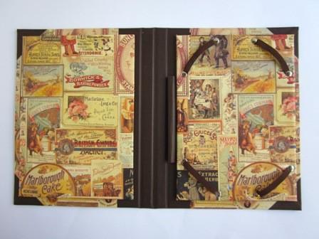 Interior de funda para e-book. Formato Libro