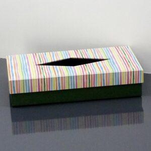 Caja para pañuelos. 23x12x5 cm