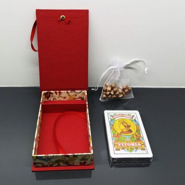 Caja para baraja española