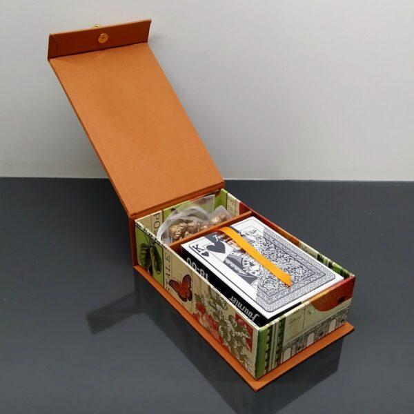 Caja para 2 barajas de poker