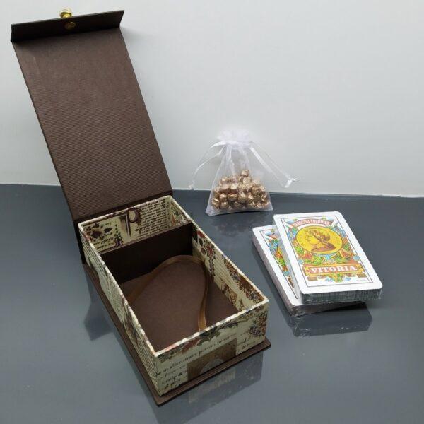 Caja para 2 barajas españolas